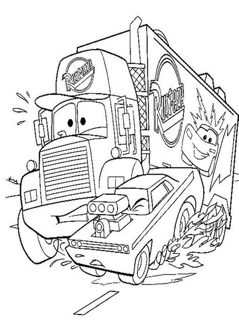 Cars Coloring Pages Pixar Coloring Home