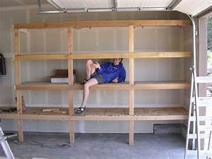 2x4 Garage Shelves For Space Addition — The Better Garages