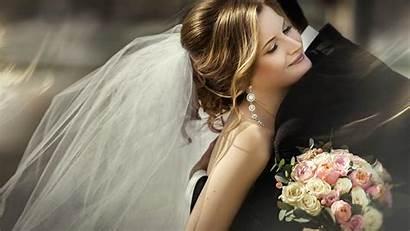 Pengantin Cantik Motion Hintergrundbilder Umarmungen Veil Bride