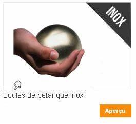 Boule De Petanque Inox : choisir ses boules de p tanque boules de p tanque avec ~ Premium-room.com Idées de Décoration