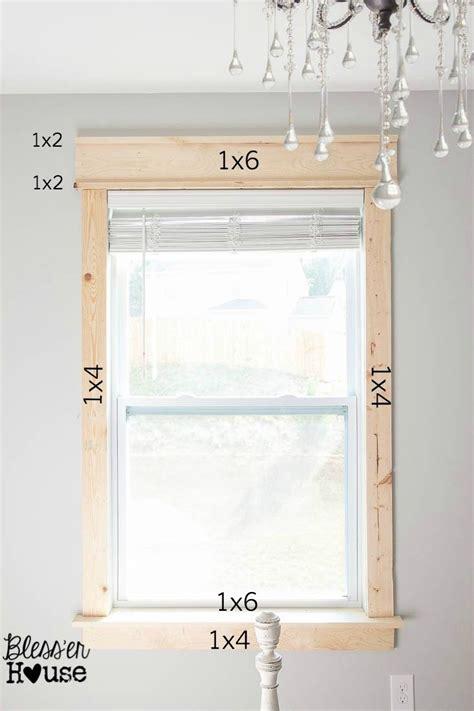 Diy Window Sill by Diy Window Trim The Easy Way