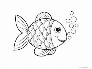Ryby Omalovnky A Ablony I Creativecz Inspirace