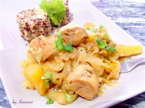 recettes d ananas de la cuisine de mamie caillou