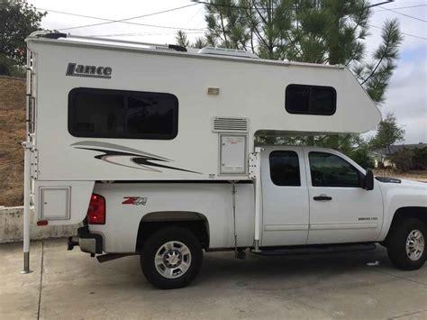 lance  truck camper  california ca