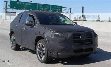 upcoming toyota rav  test vehicle spied news