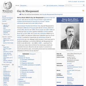 Une Vie Maupassant Résumé by Une Vie De Guy De Maupassant Resume