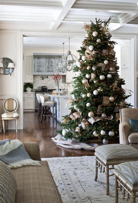 christmas tree nature inspired christmas decorating