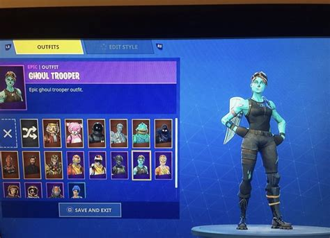 trading ghoul trooper   wins email included