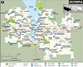 Olympia Map, Washington | Map of Olympia