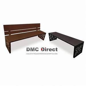 Banc Exterieur Design : mobilier urbain en m tal banc public acier banc de ville design dmc direct ~ Teatrodelosmanantiales.com Idées de Décoration