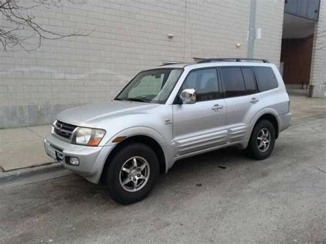 automotive air conditioning repair 2001 mitsubishi montero sport auto manual find used 2001 mitsubishi montero limited sport utility 4 door 3 5l in chicago illinois united