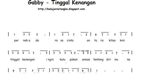not angka iwak peyek chord lagu armada apa kabar sayang kumpulan not angka not angka st 12 saat terakhir