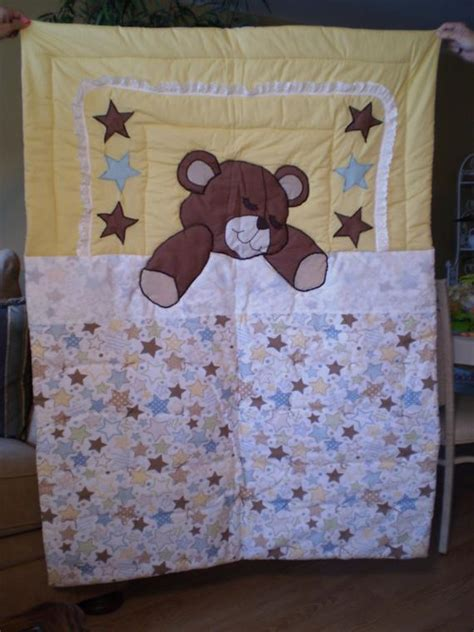 items similar  sleeping teddy bear quilt  etsy