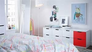 Meuble Bas Chambre : comment agrandir visuellement une petite chambre ~ Teatrodelosmanantiales.com Idées de Décoration