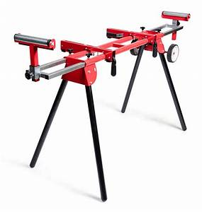 General International Universal Miter saw stand with solid ...