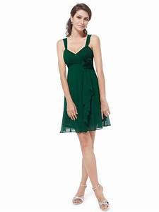 unique ruffles empire waist short bridesmaid dress With empire waist short wedding dress