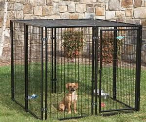 Exceptional gates dog kennel panels at menards dog kennel for Menards dog house