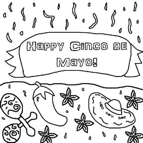 cinco de mayo colors happy cinco de mayo coloring pages best place to color