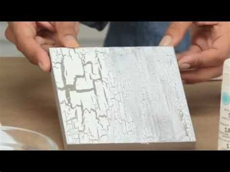 martha stewart crackle effect paint youtube