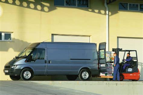 ford transit van dimensions   capacity payload