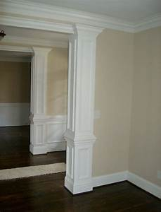 Image gallery interior decorative columns for Decorative interior wall columns