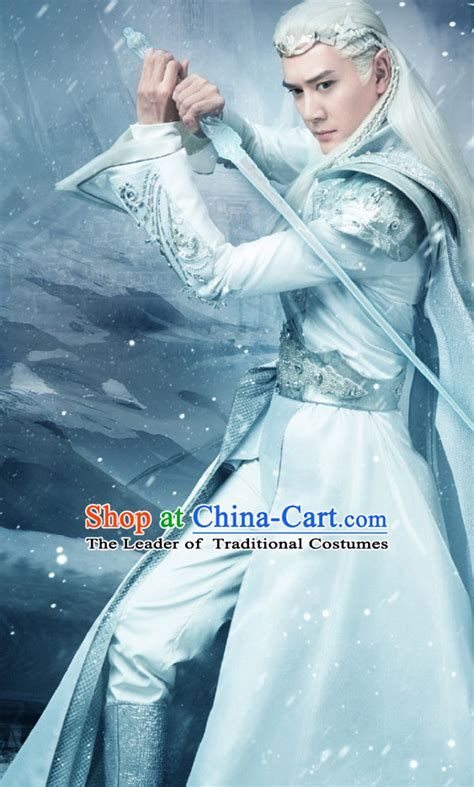 chinese halloween costumes fairytale prince cosplay