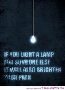 quotes about being a light quotesgram With lamp light quotes