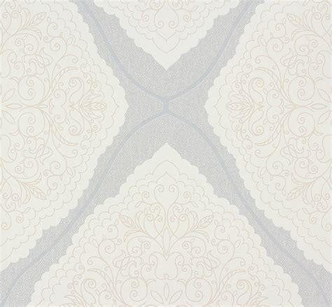 Zuhause Wohnen Tapeten by Zuhause Wohnen Tapete Verzierung Grau Creme 57104
