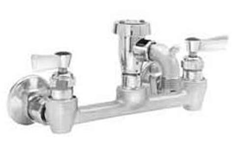 mop sink faucet backflow preventer adjustable wall mount service sink faucet