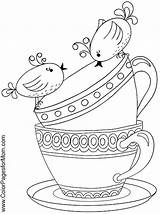 Coloring Coffee Pages Tea Adult Boston Drawing Printable Sheets Adults Colouring Ship Advanced Books Colorpagesformom Drinks Wine Para Therapy Teacup sketch template