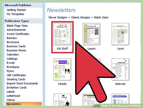 microsoft publisher  pictures wikihow
