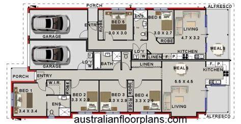 6 Bedroom Home Designs Australia : 6 Bedroom Dual Living House Plan