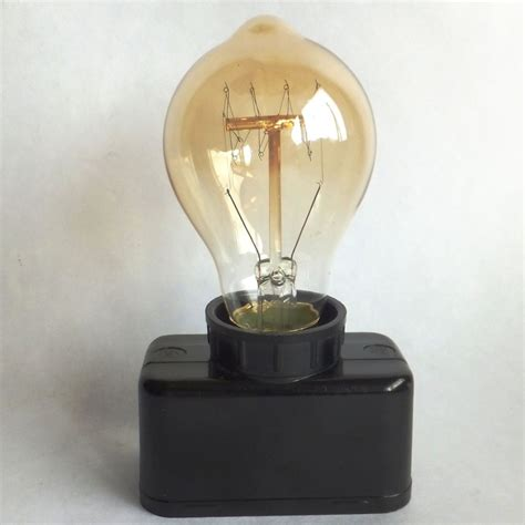 lot vintage industrial retro bakelite e27 edison light