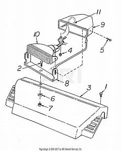 Mtd 31ae880h352  1998  Parts Diagram For Headlight Assembly