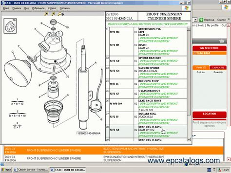 citroen service box  parts  service manual