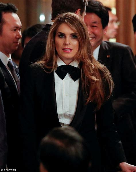 Hope Hicks' most fashionable looks revealed   Daily Mail ...