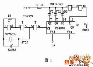 50hz Time-base Signal Generator Circuit Diagram
