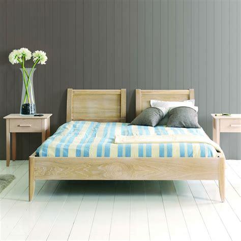 chambre a coucher en chene lit en chêne massif brin d 39 ouest