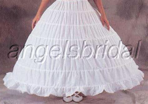 Bridal Petticoat Crinoline Hoop Skirt Wedding Gown Slip