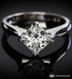 25 best ideas about diamond solitaire rings on pinterest With wedding band instead of engagement ring