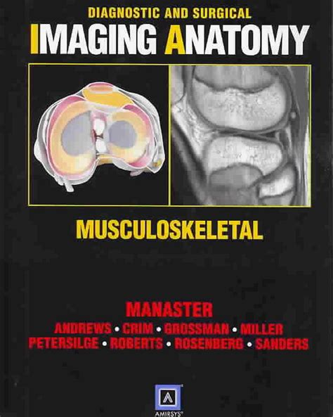 Diagnostic and Surgical Imaging Anatomy: Musculoskeletal ...