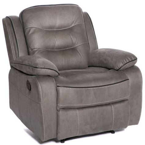 zoe manual recliner fabric chair