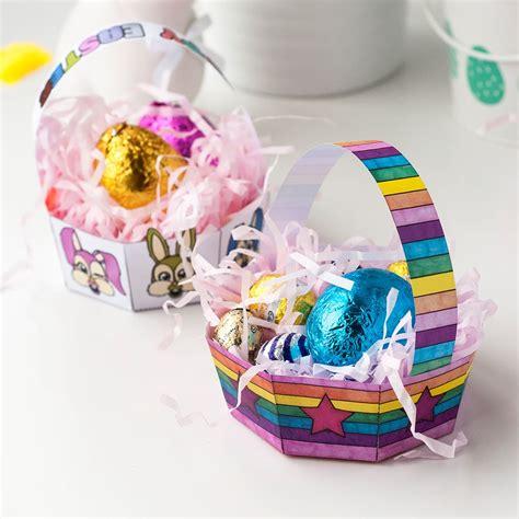 Oster Eierbecher Basteln by Diy Easter Egg Basket Templates Set Of 8