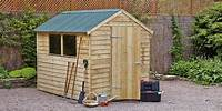 how to build a garden shed How to build & erect a shed guide at Homebase.co.uk