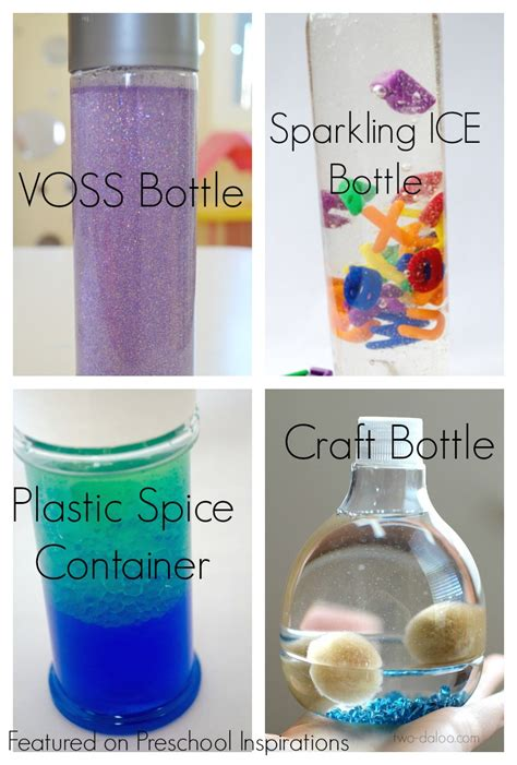 how to make a sensory bottle preschool inspirations 273 | Types of bottles for how to make a perfect sensory bottle