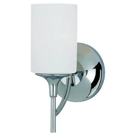Sterling Bathroom Fixtures by Sea Gull Lighting Stirling One Light Chrome Bath Light