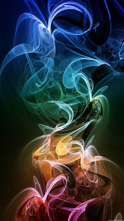 Mobile Wallpapers Phone Neon Samsung Smoke Htc