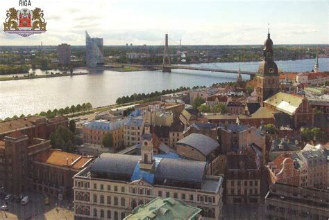 A Journey of Postcards: Riga, capital of Latvia