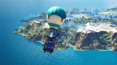 fortnite chapter  patch released map shown eurogamernet