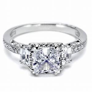 Princess cut diamond engagement rings totally stunning for Diamond wedding ring images